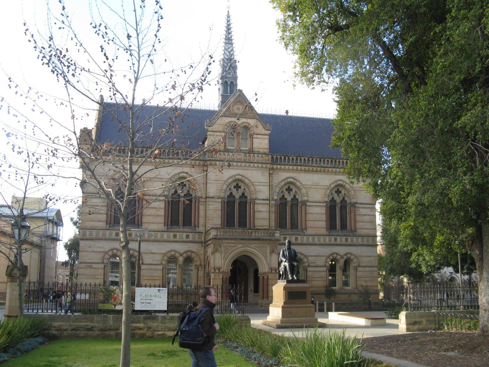 Die Universiteit van Adelaide is die oudste universiteit van Australië