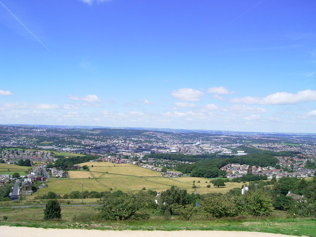View from Castle Hill - geograph.org.uk - 898197