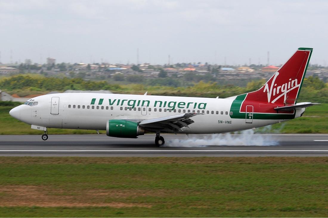 File virgin nigeria boeing 737 300 wikimedia Vibeline