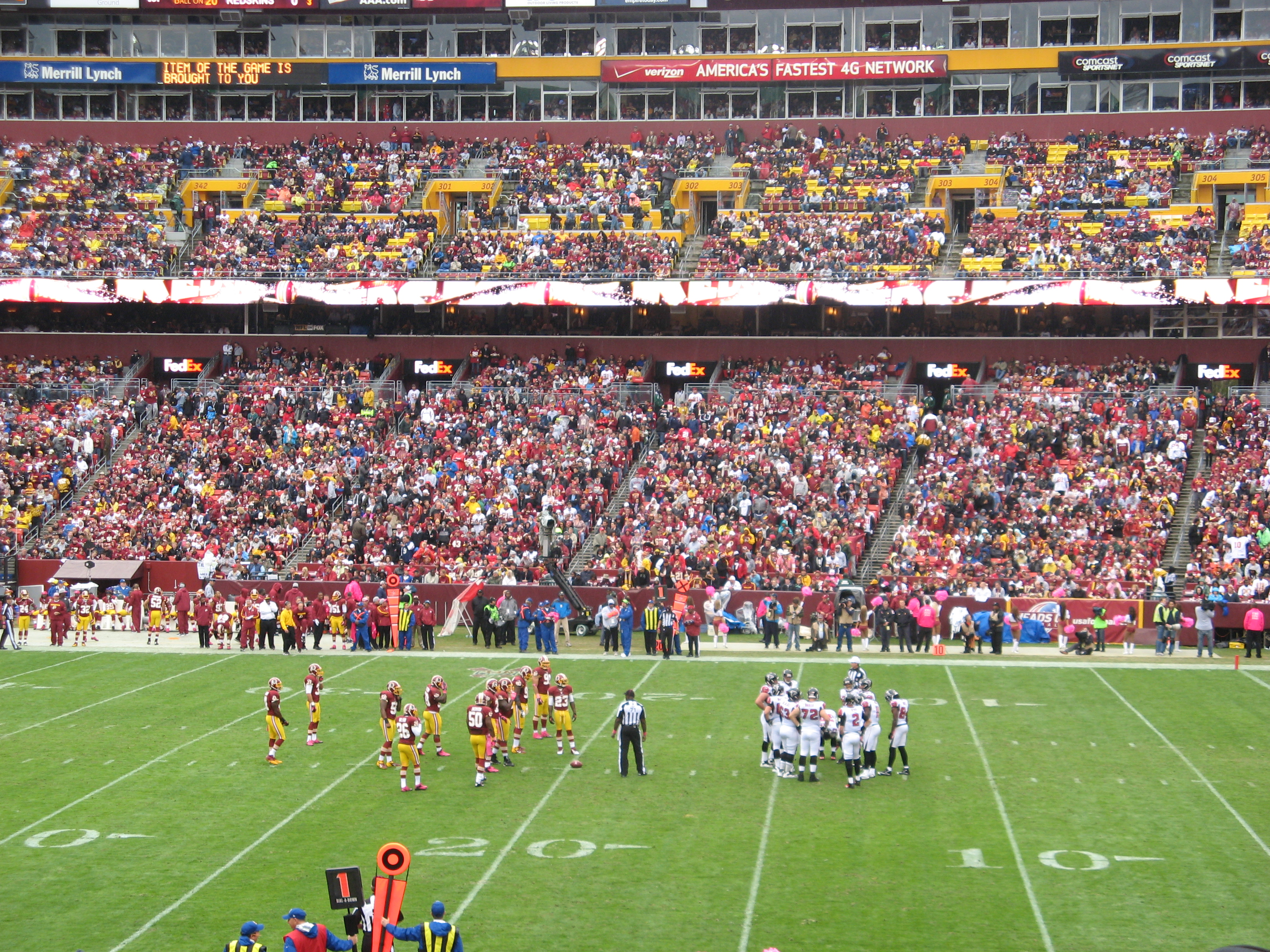 New File:Washington Redskins Vs Atlanta Falcons 07.10.2012 FedEx 010.JPG  hot sale