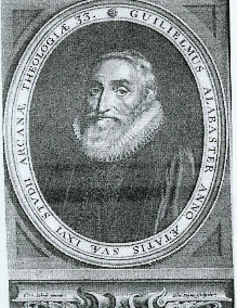 William Alabaster 16th and 17th-century English poet, playwright, and religious writer