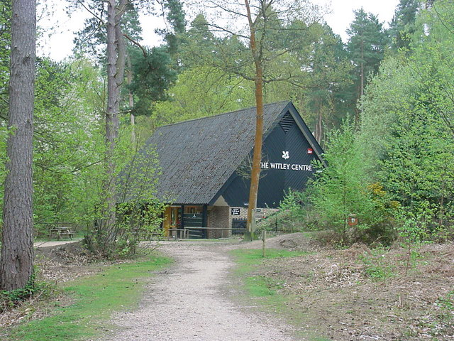 Witley - Witley Common Visitors Centre - geograph.org.uk - 165201