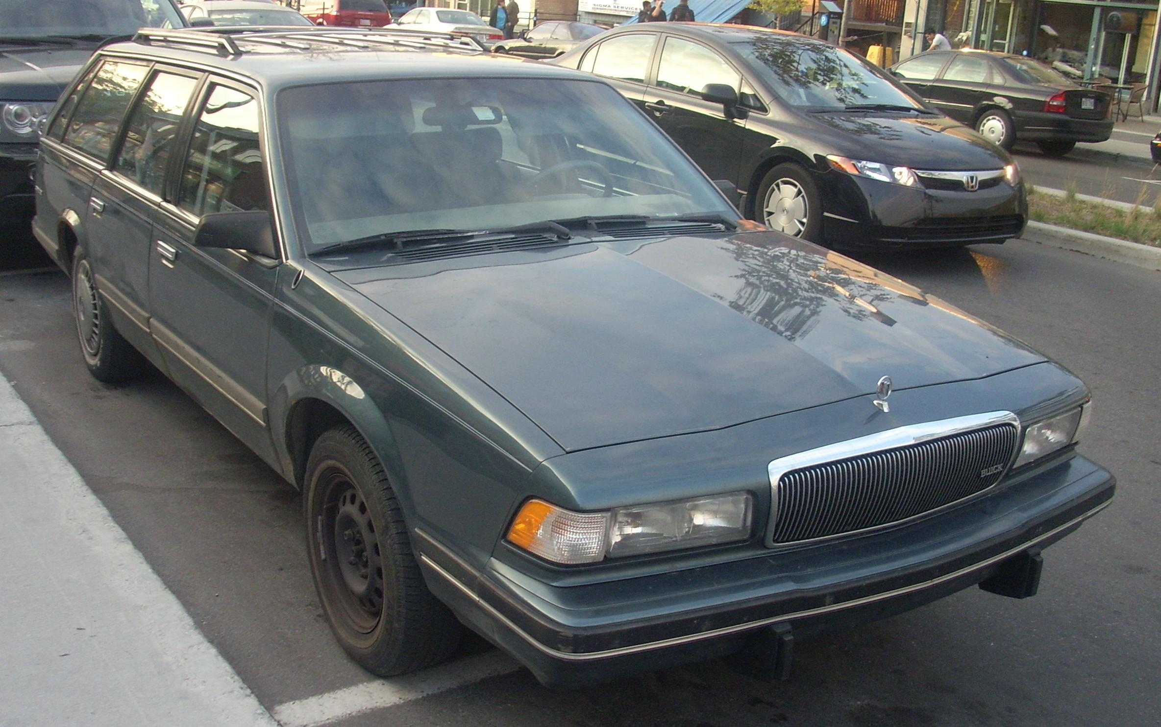 File 94 96 Buick Century Wagon Front Jpg Wikimedia