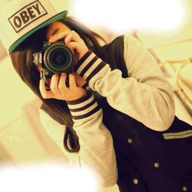 картинки с фотоаппаратом девушек