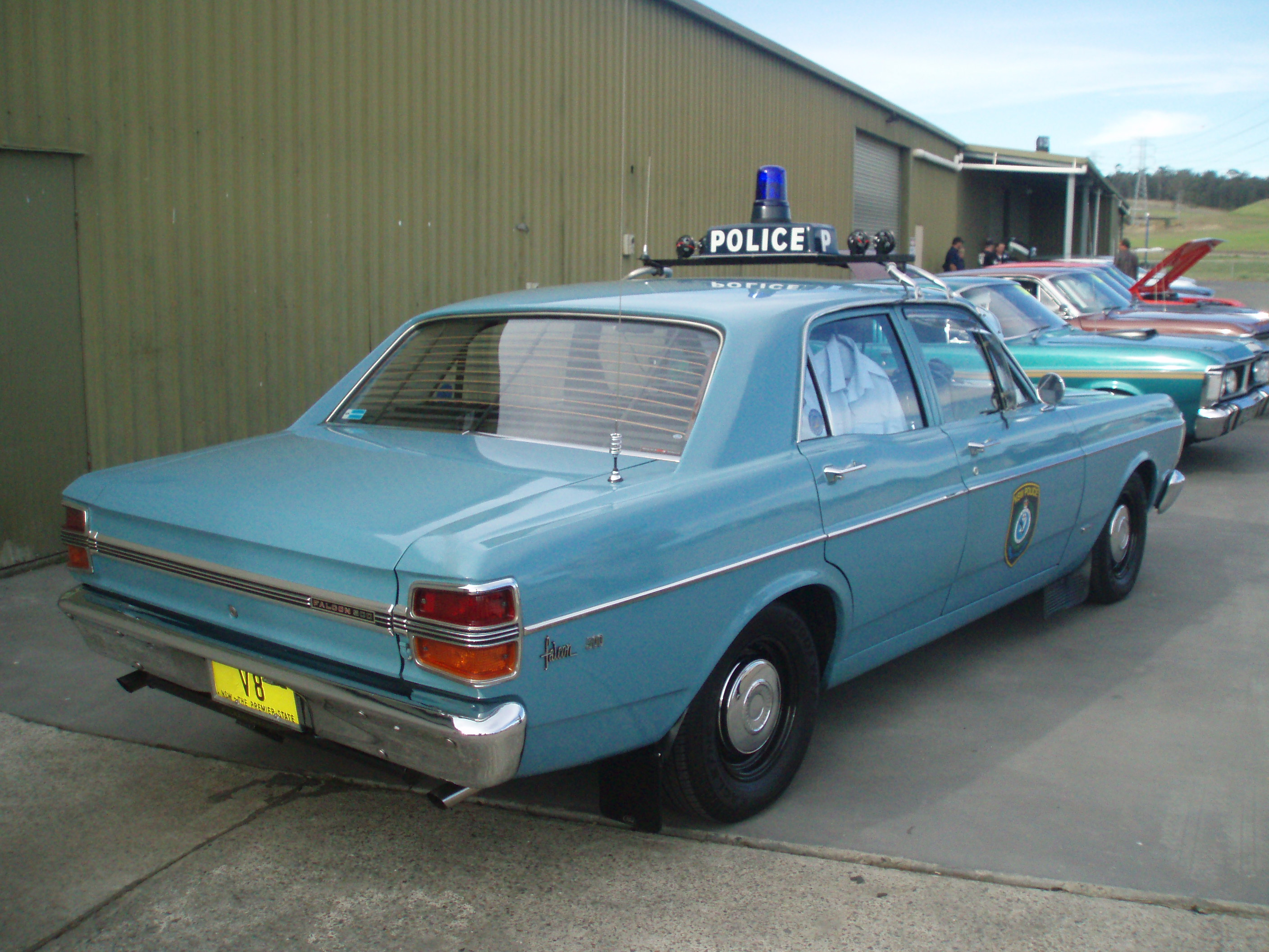 Ex Police Car Auctions >> File:1971 Ford XY Falcon 500 - NSW Police (4973161112).jpg - Wikimedia Commons