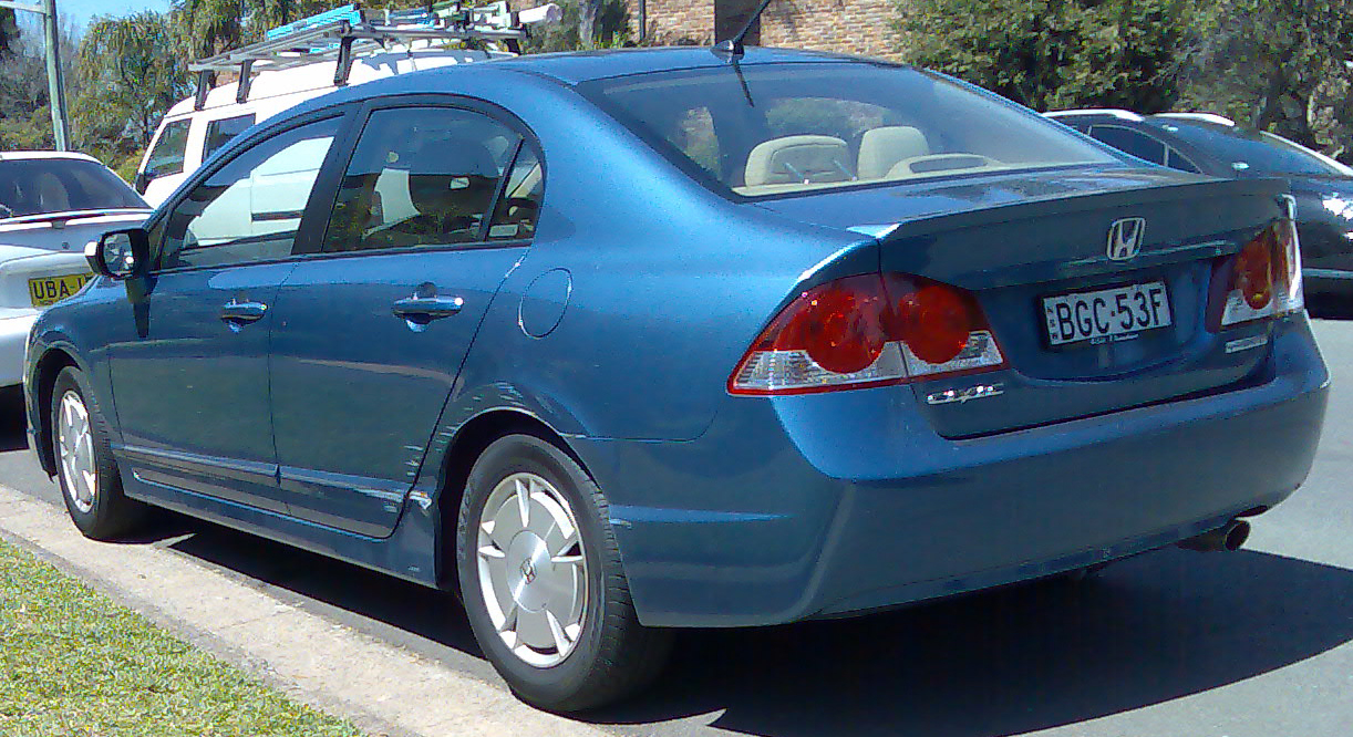 File2006 2008 Honda Civic Hybrid Sedan 01 Wikimedia Commons 2003