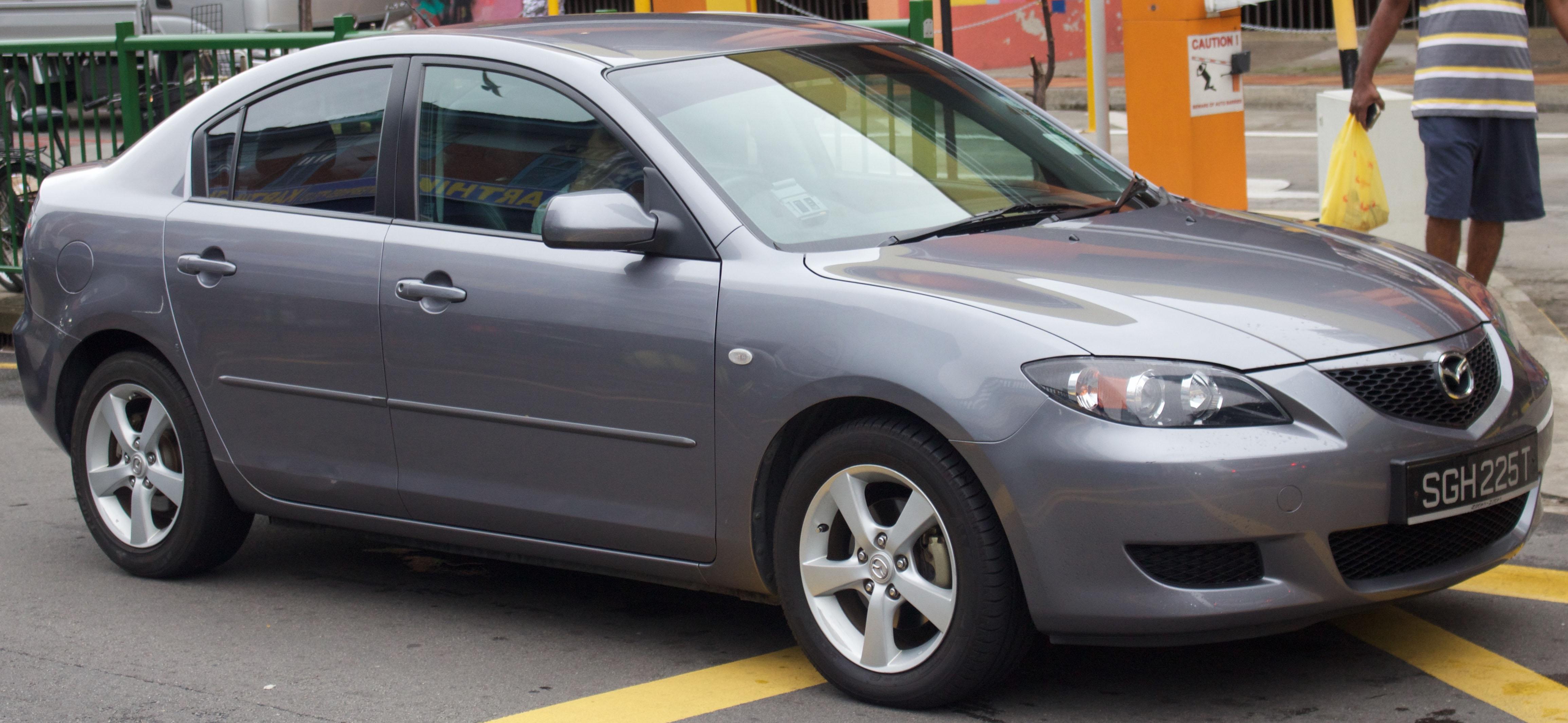 File 2006 Mazda 3 Bk 1 6 Luxury Sedan 2016 01 03 01 Jpg Wikimedia Commons