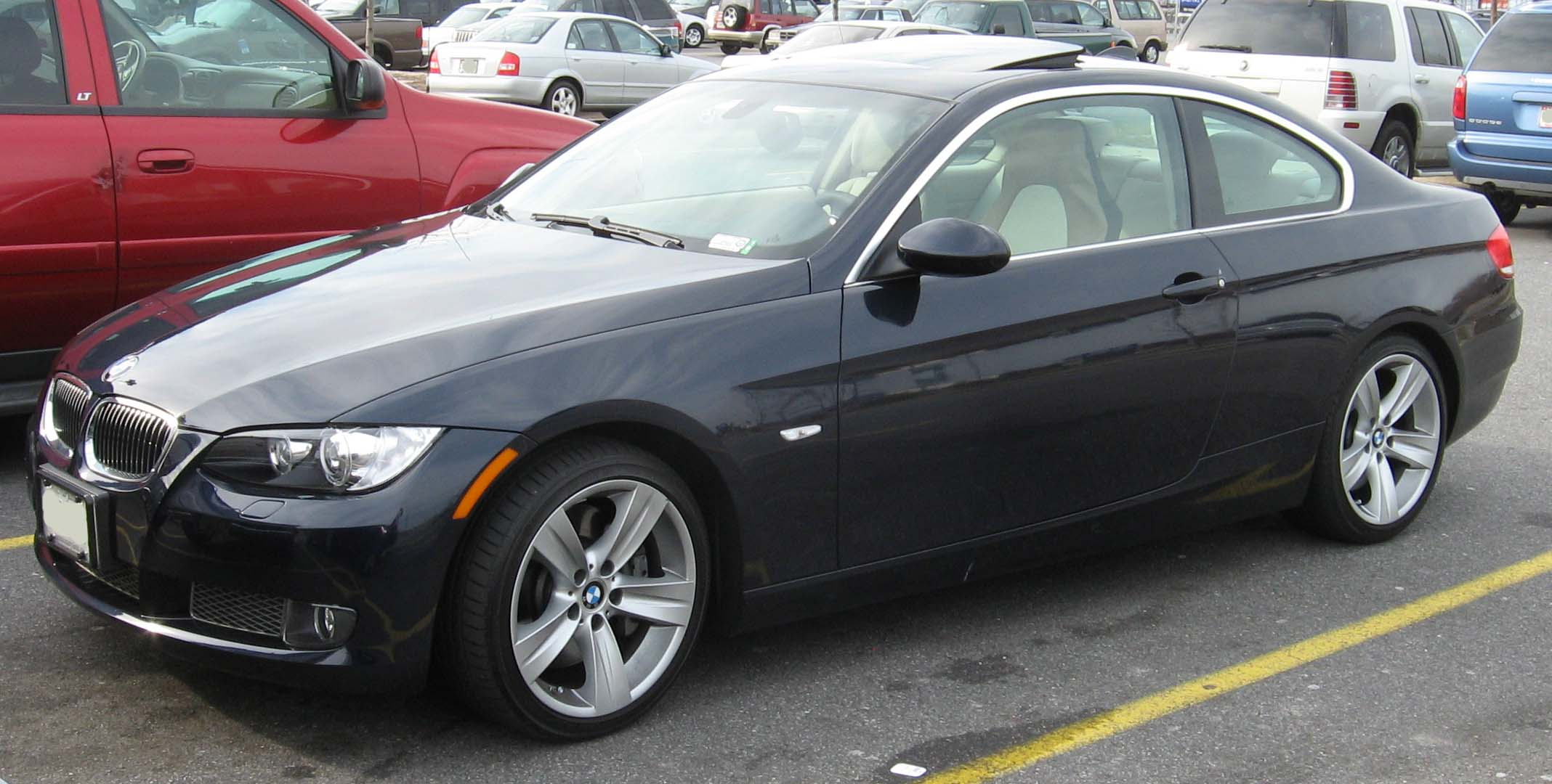 Bmw 335I Convertible >> File:2007-BMW-335i-coupe.jpg - Wikimedia Commons