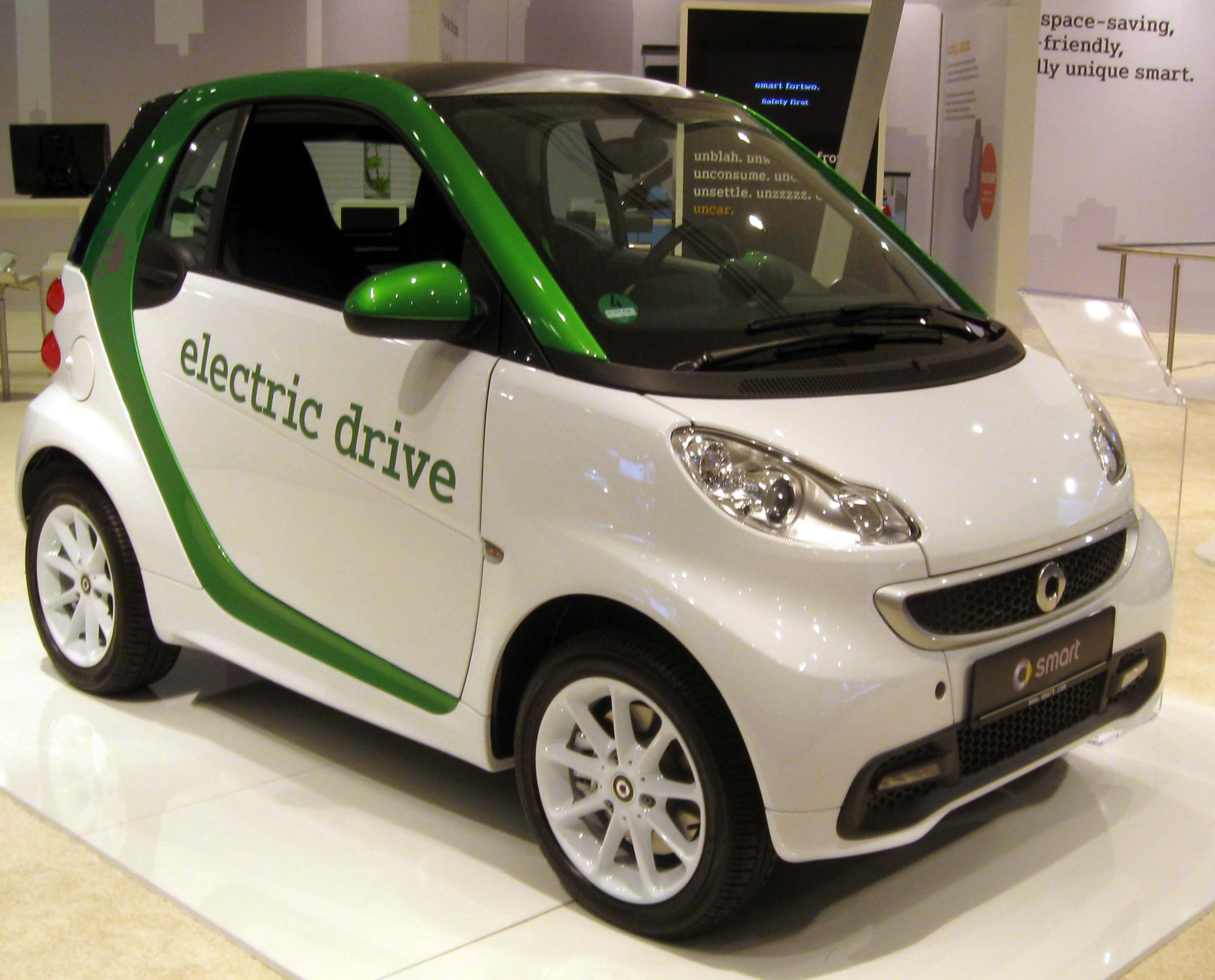 Mercedes Smart Car >> Smart Electric Drive Wikipedia