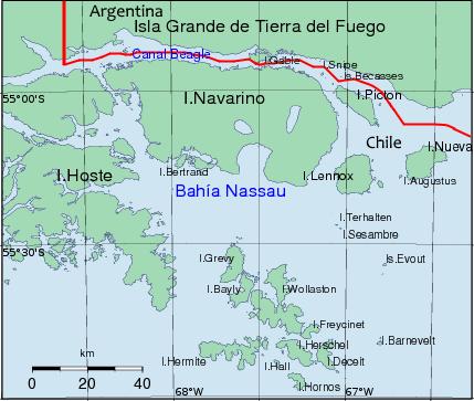 Isole Picton, Lennox e Nueva