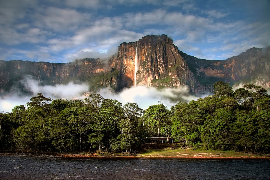 highest waterfall in the world