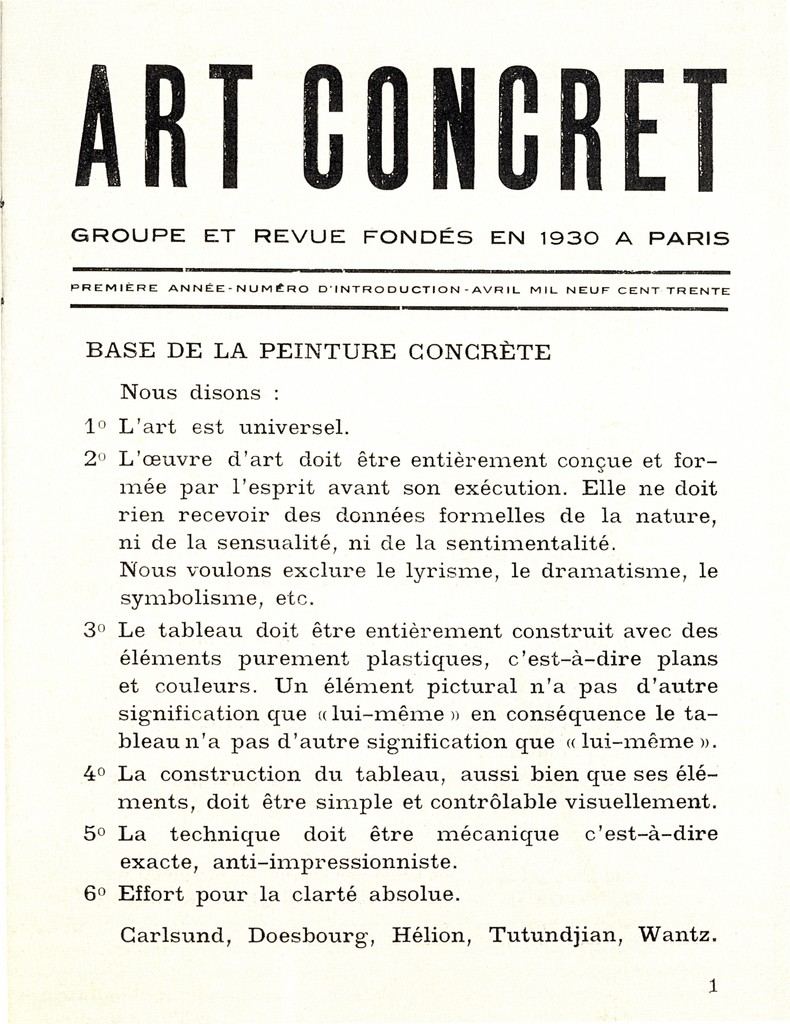 art manifesto wikiwand