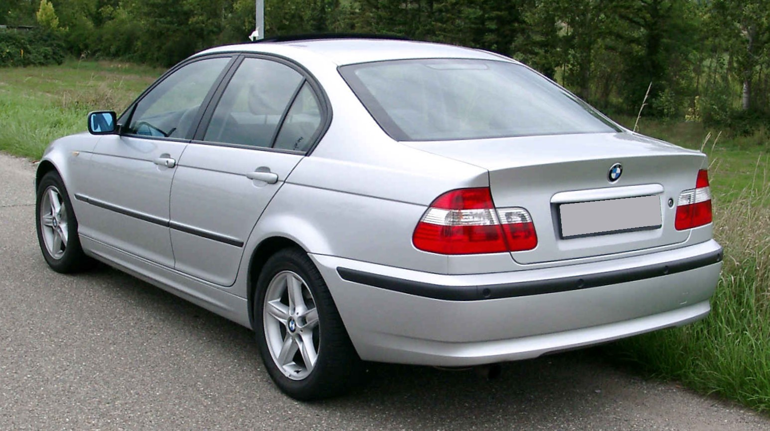 2002 E46 saloon Facelift