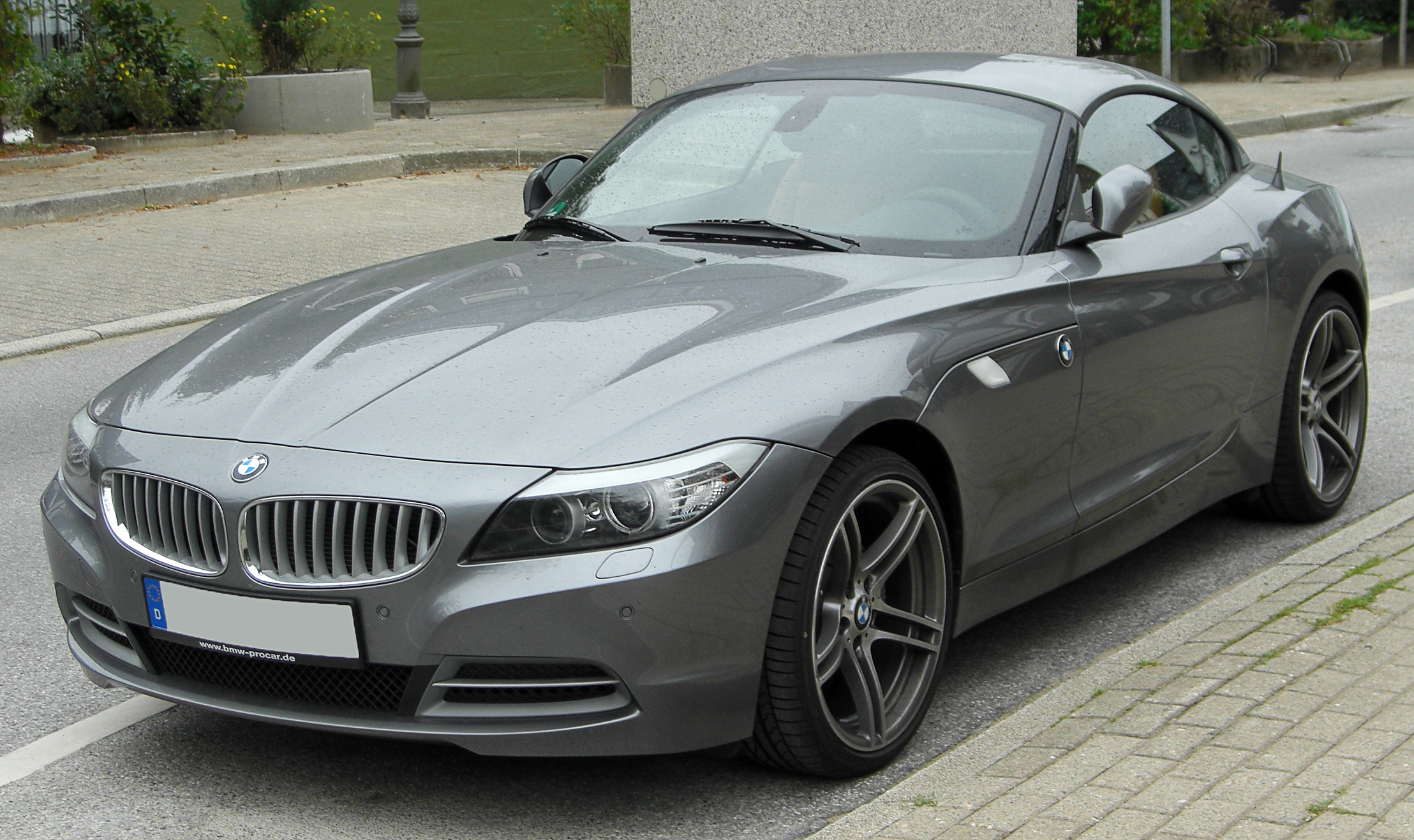 File Bmw Z4 E89 Front 20100815 Jpg Wikimedia Commons