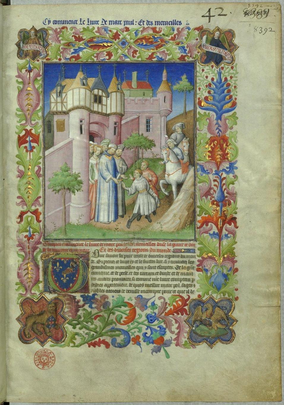 File:BNF Fr2810 f1r Frontispice Livre des