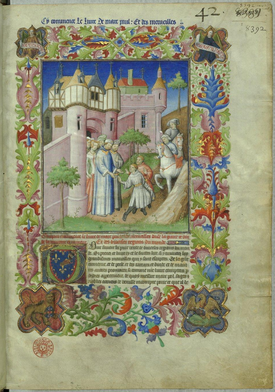 Livre des merveilles (BNF Fr2810) — Wikipé
