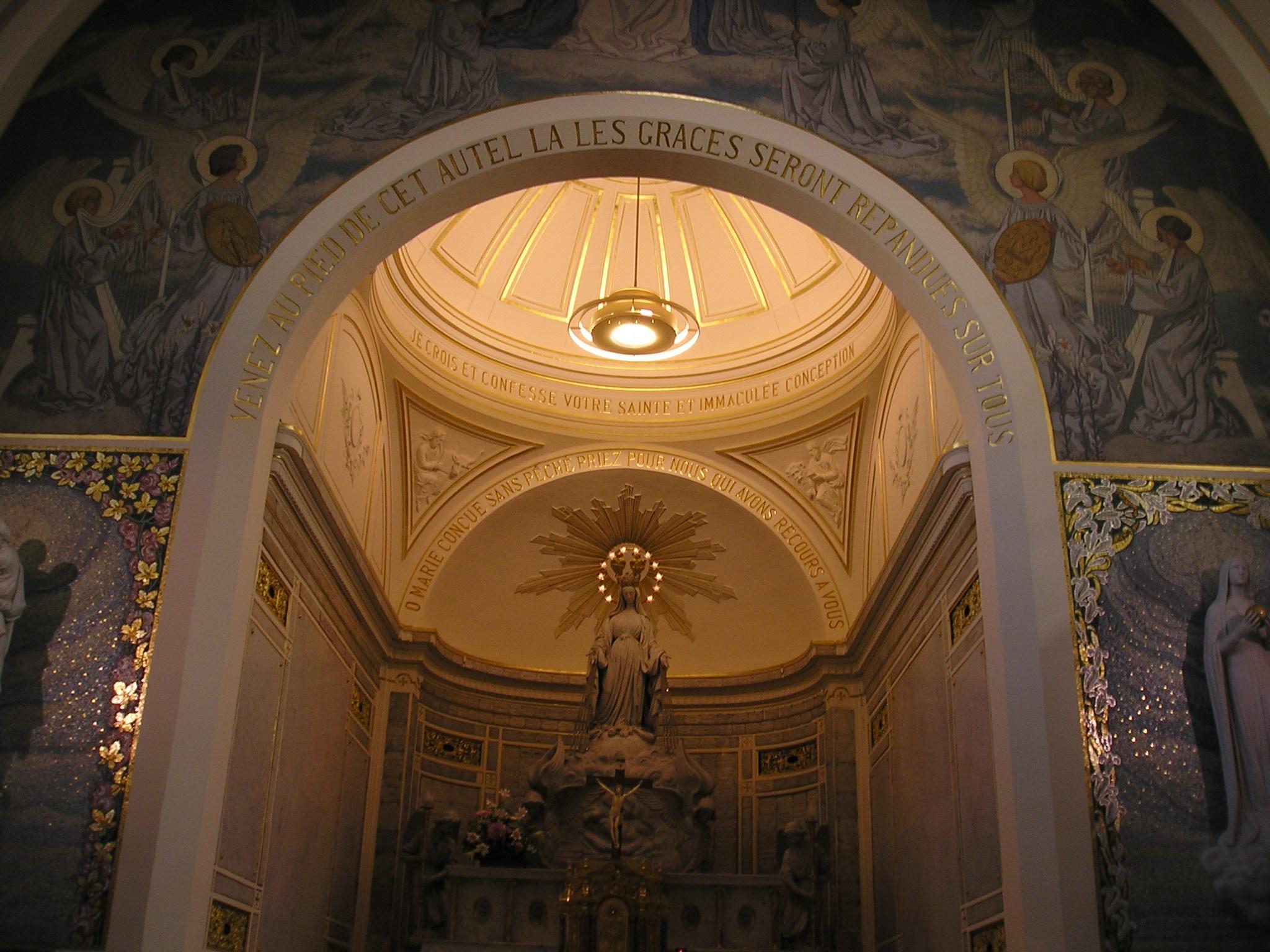 0414b9279f9 Capilla de Nuestra Señora de la Medalla Milagrosa - Wikipedia