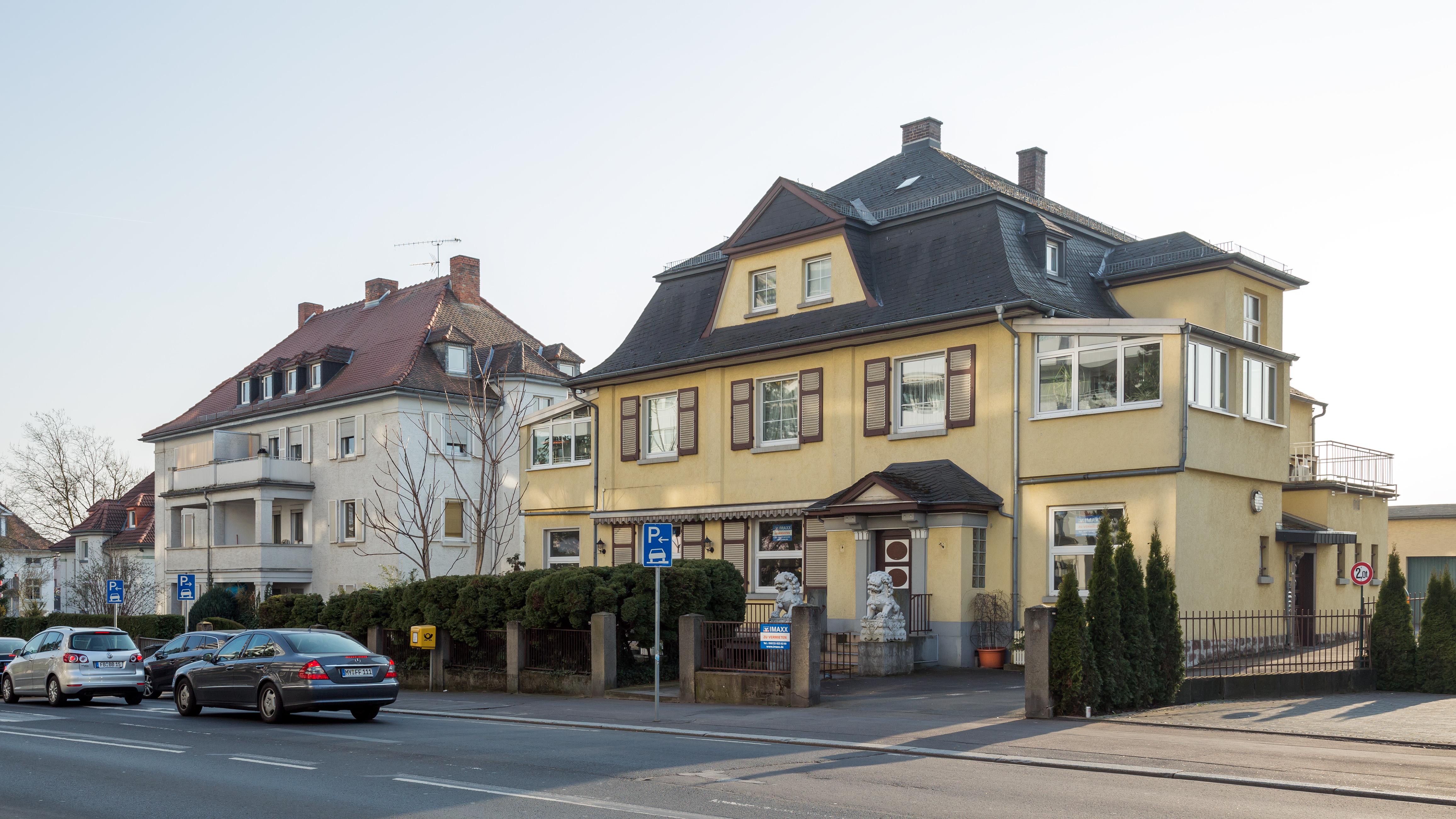 Frankfurter Bad file bad nauheim frankfurter strasse 2 6 nordosten 20140314 jpg
