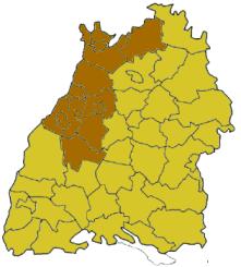 Map Of Germany Karlsruhe Baden.Karlsruhe Region Wikipedia