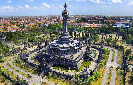 Hasil gambar untuk Bajra Sandhi Monument