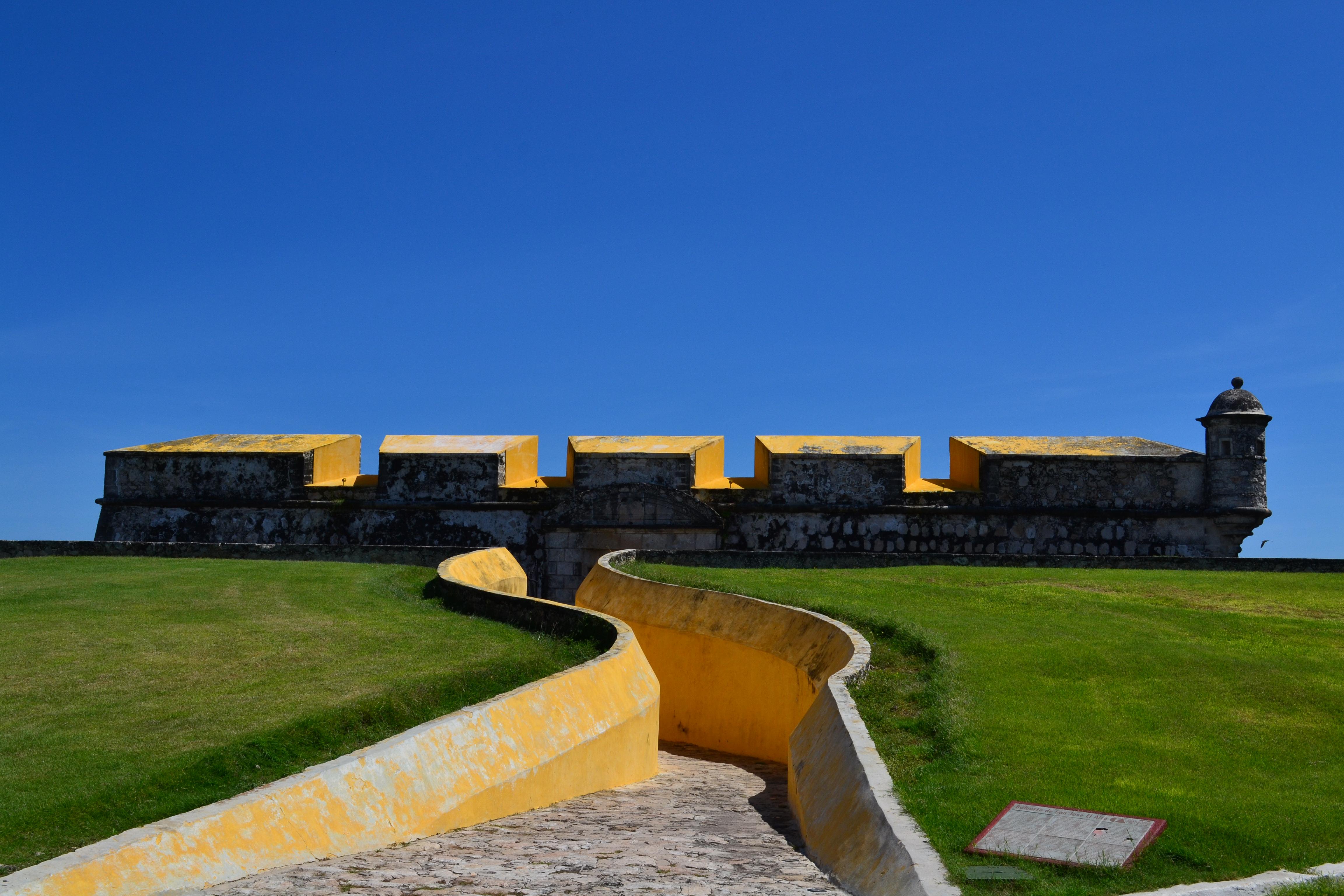 Baluarte de San José, otro de los baluartes de Campeche.