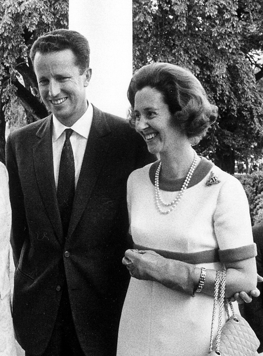 King Baudouin and Queen Fabiola