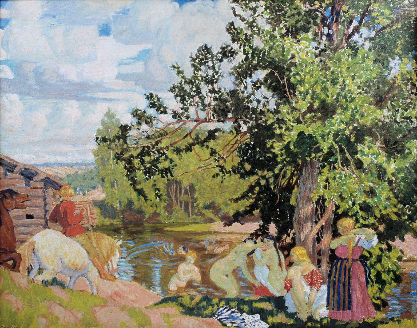Artist Boris Kustodiev: biography, creativity. Boris Mikhailovich Kustodiev 62