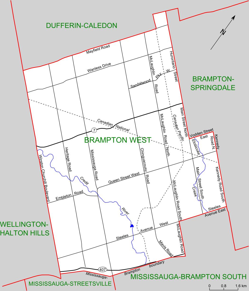 Brampton Canada Map.File Brampton West Riding Map Png Wikimedia Commons