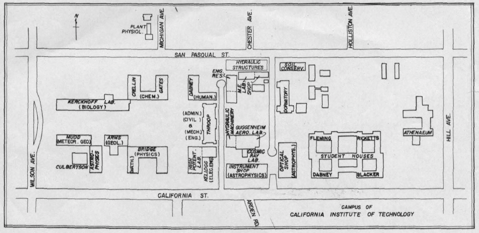 File:Caltech campus map 1944.png - Wikimedia Commons on