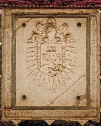 Campuzano Polanco family coat of arms Campuzano Polanco Coat of Arms on Burial Slab.jpg