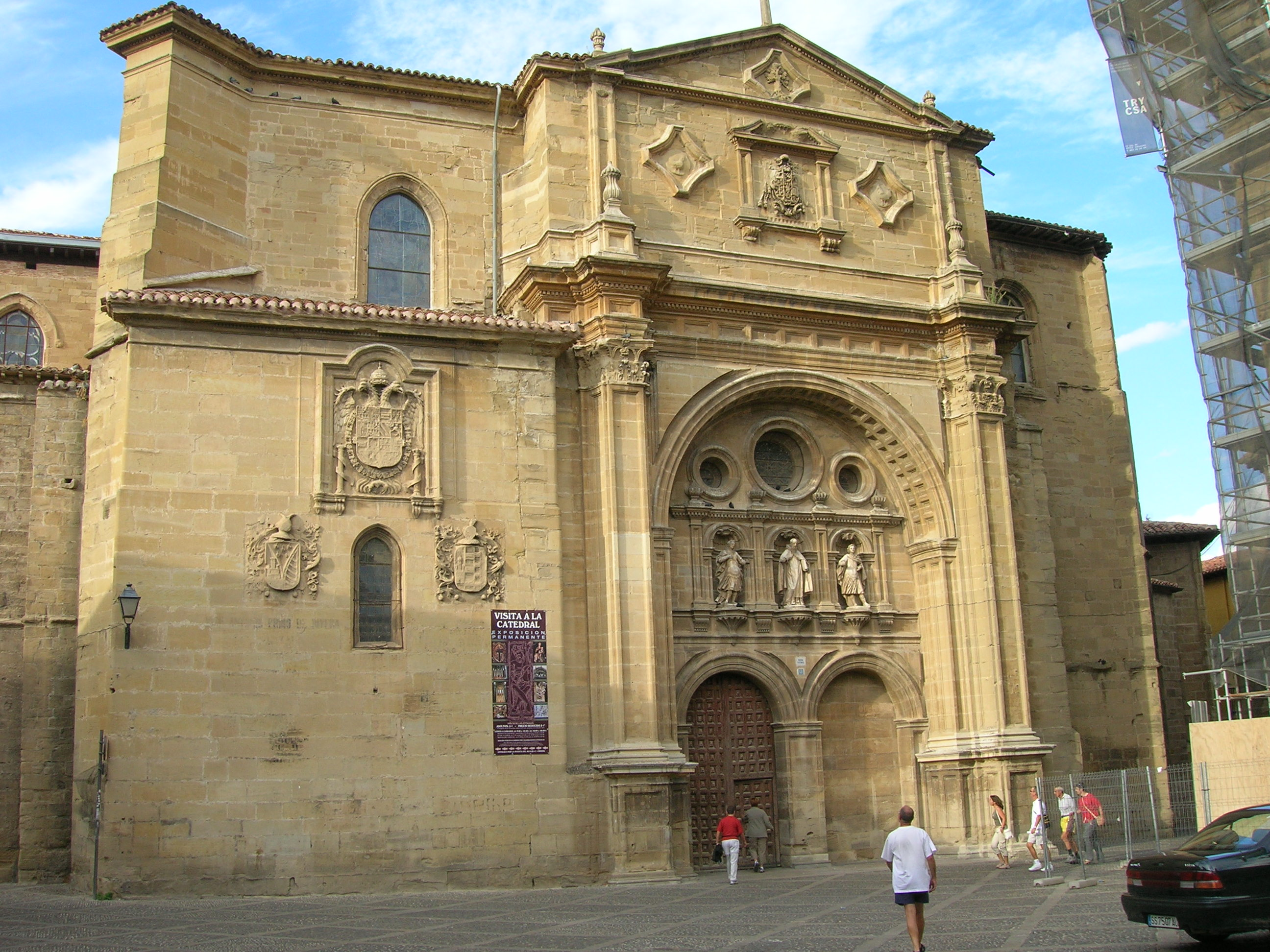 File Catedral De Santo Domingo De La Calzada Jpg Wikimedia Commons