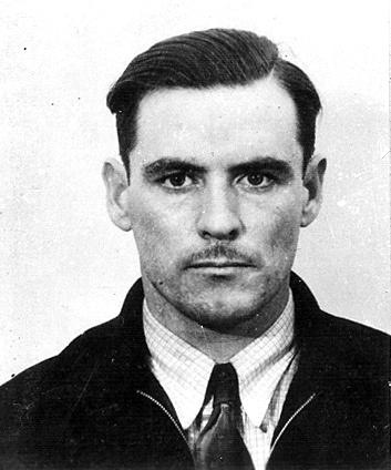 American bank robber and member of the John Dillinger gang