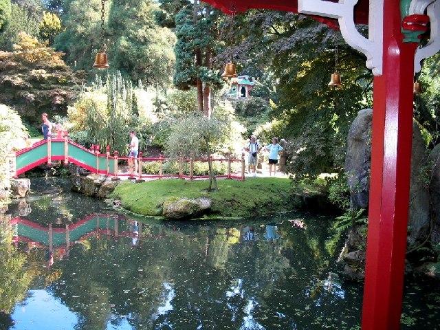 Chinese garden at Biddulph Grange - geograph.org.uk - 23321