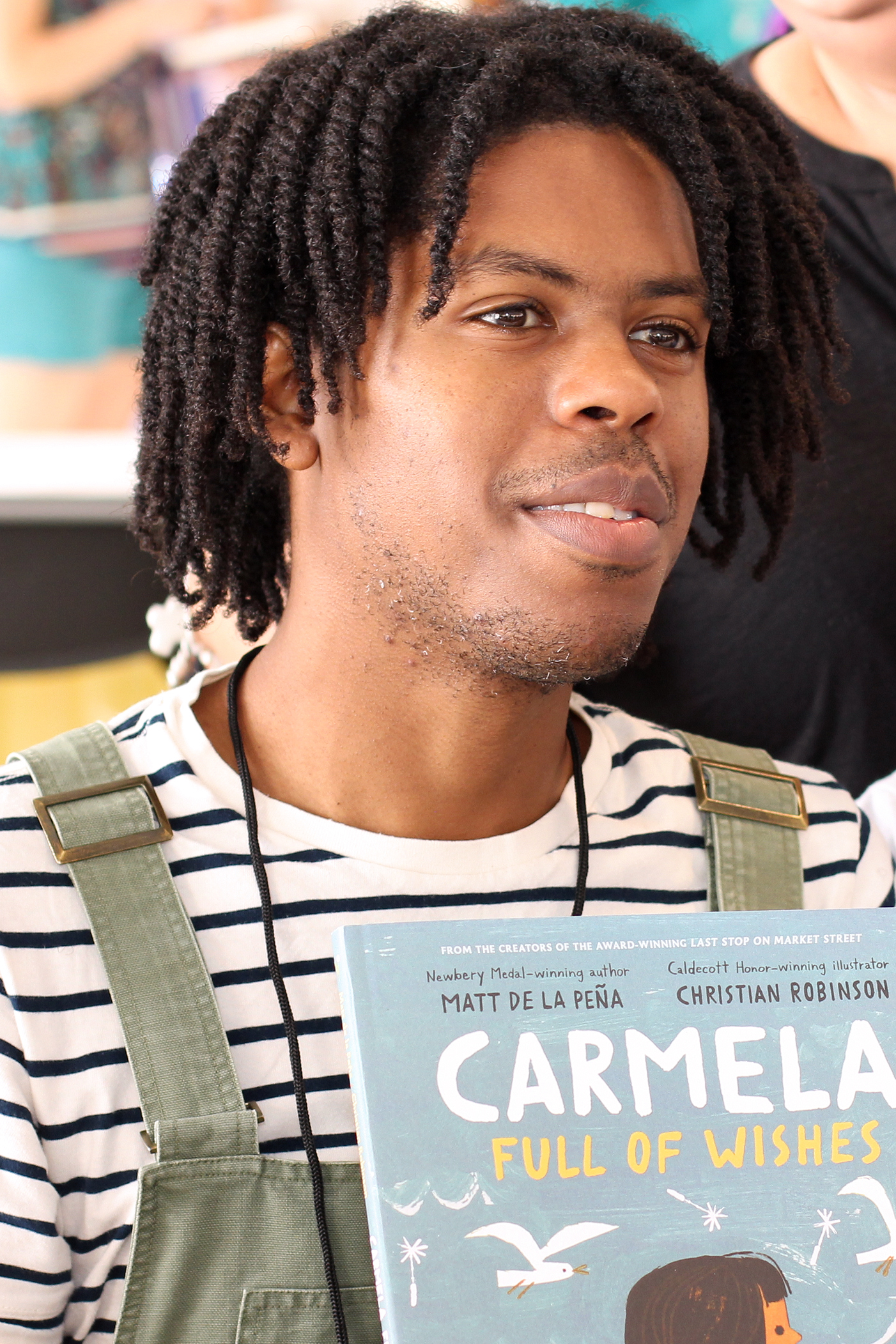Robinson at the 2018 Texas Book Festival
