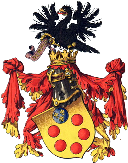 Ofbeeldienge:Coat of arms of the House of de' Medici.png