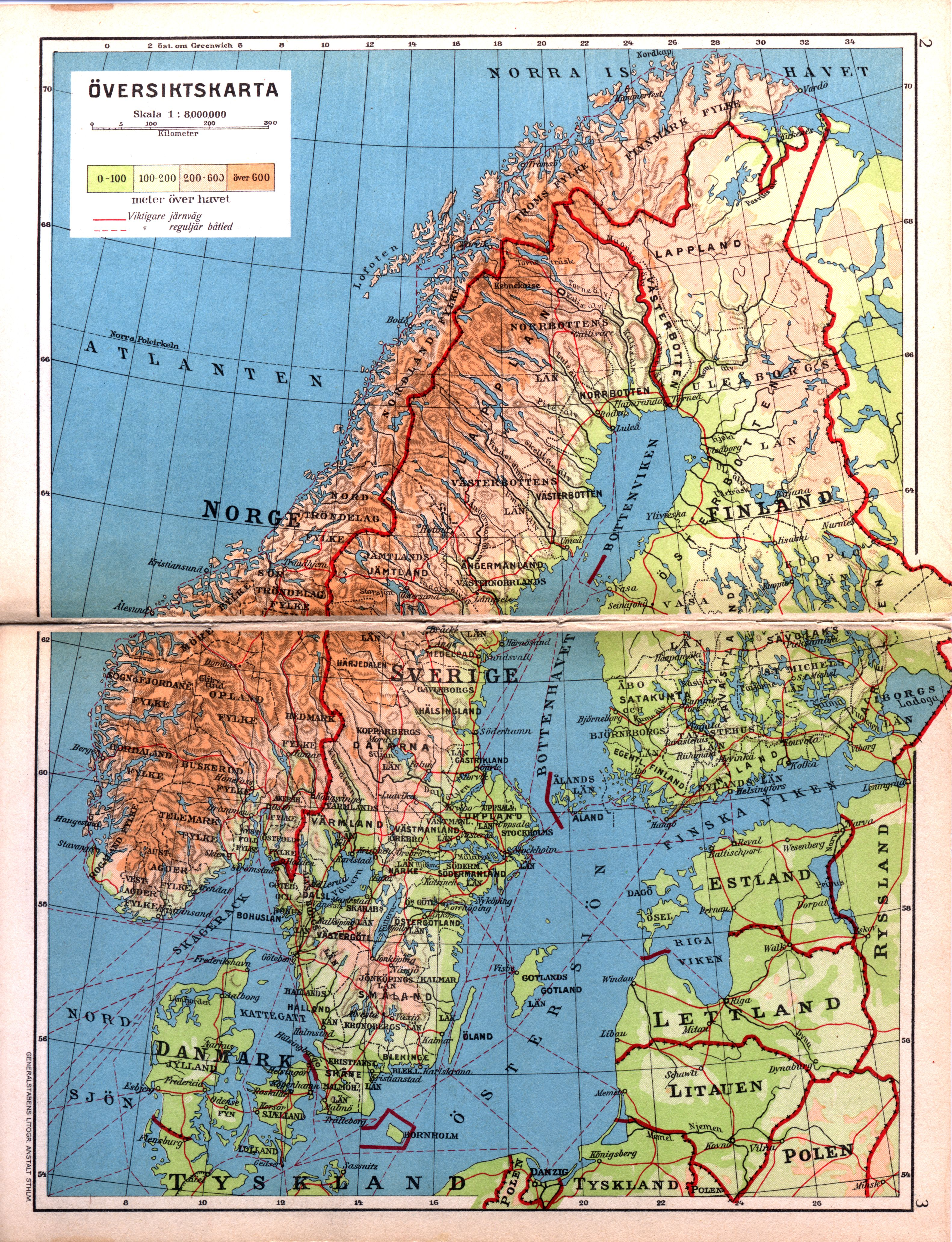 atlas karta Karolinska Institutet   ett medicinskt universitet atlas karta