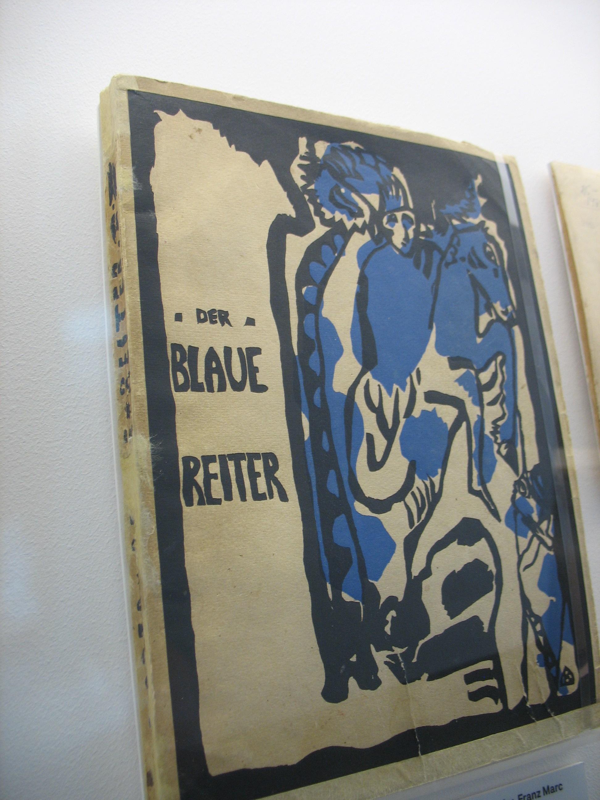 almanach der blaue reiter 1912 covergestaltung von wassily kandinsky - Wassily Kandinsky Lebenslauf