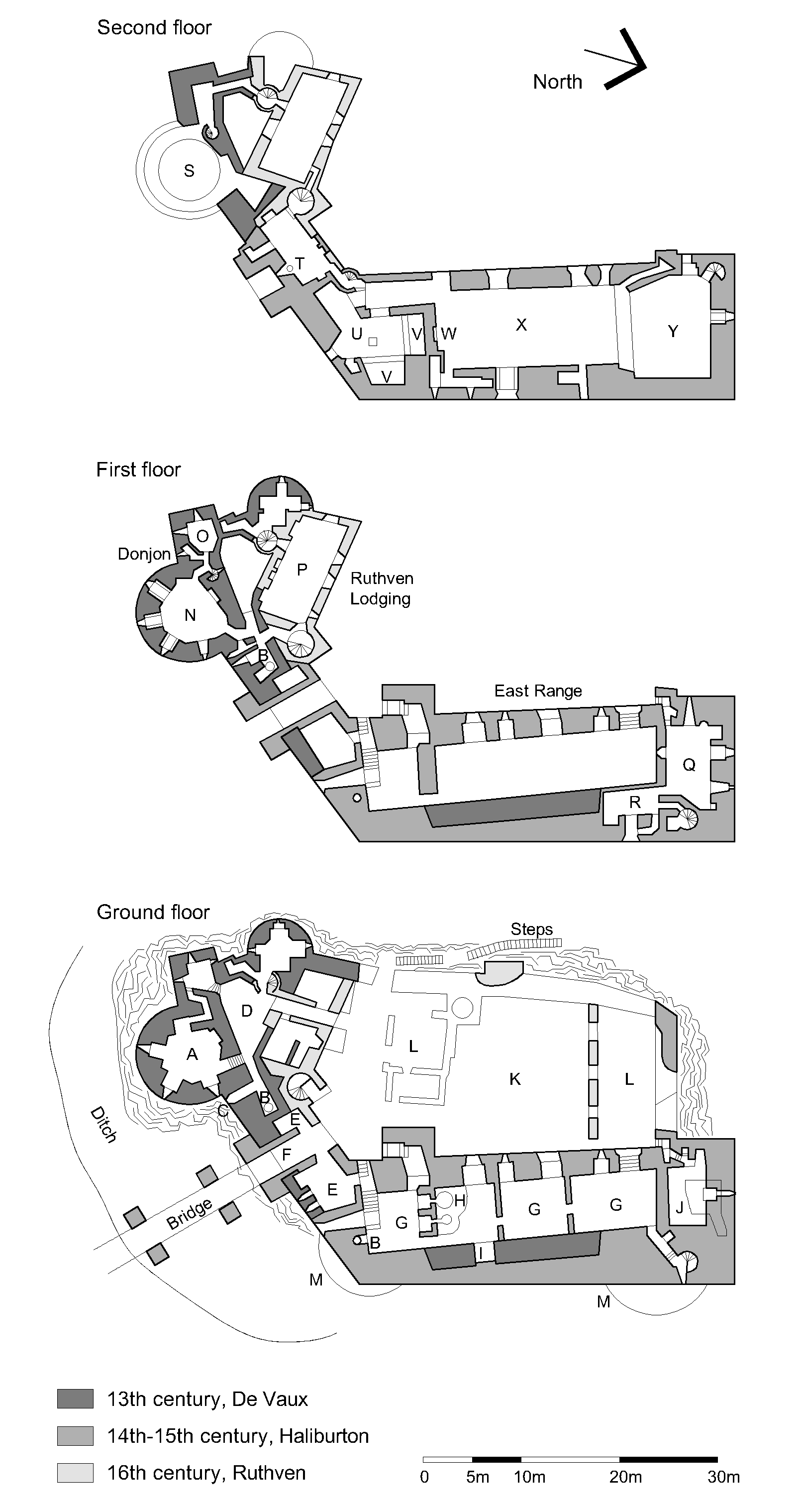 file dirleton plan all floors png wikimedia commons