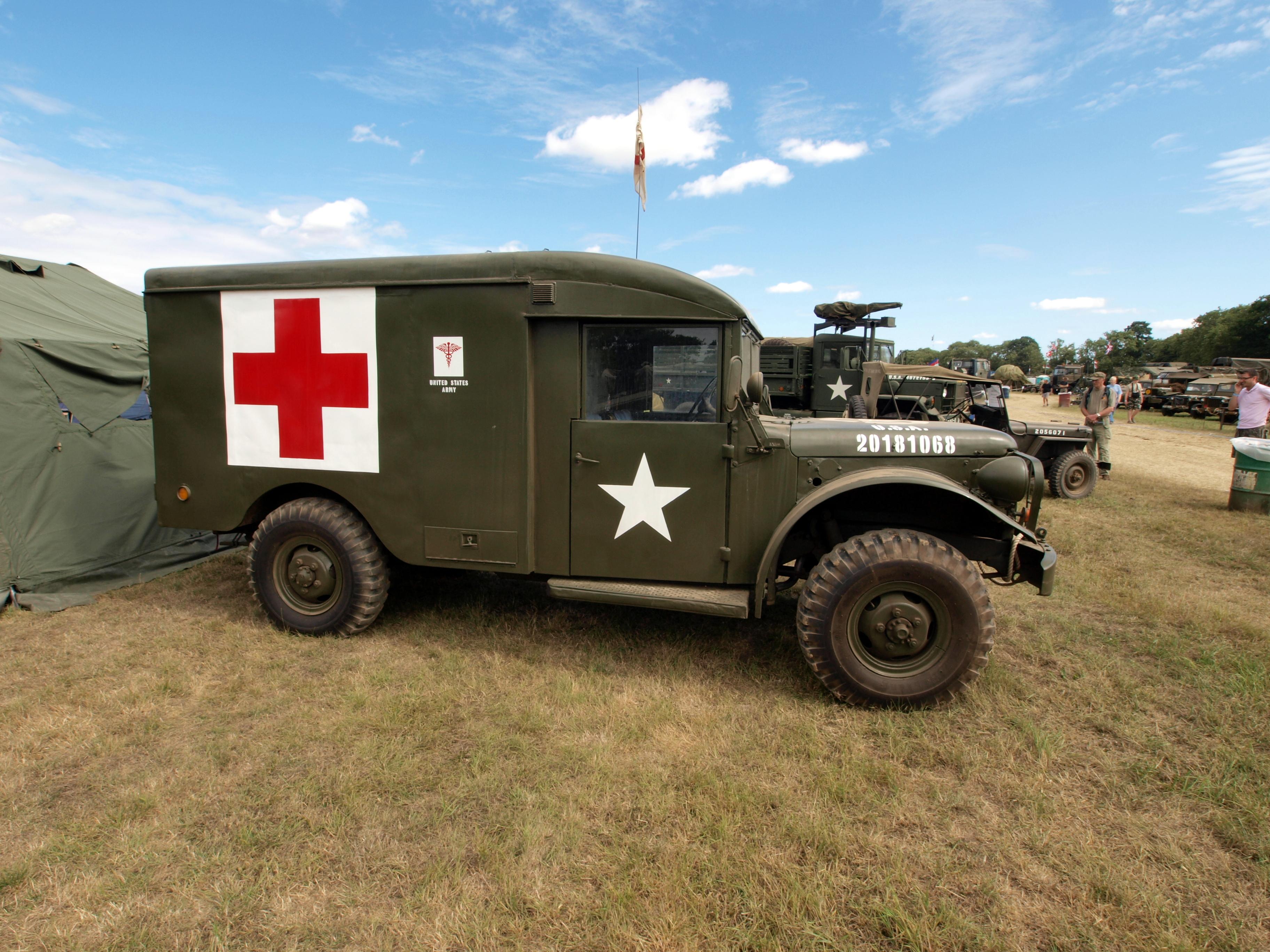 File Dodge M43 Military Ambulance Usa 20181068 Pic2 Jpg