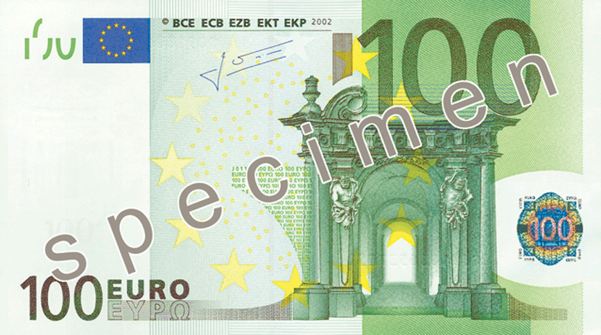 100 euro note wikipedia. Black Bedroom Furniture Sets. Home Design Ideas