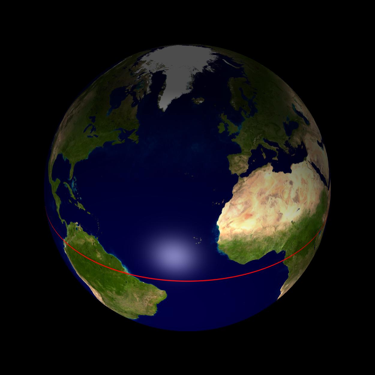 mappemonde latitude