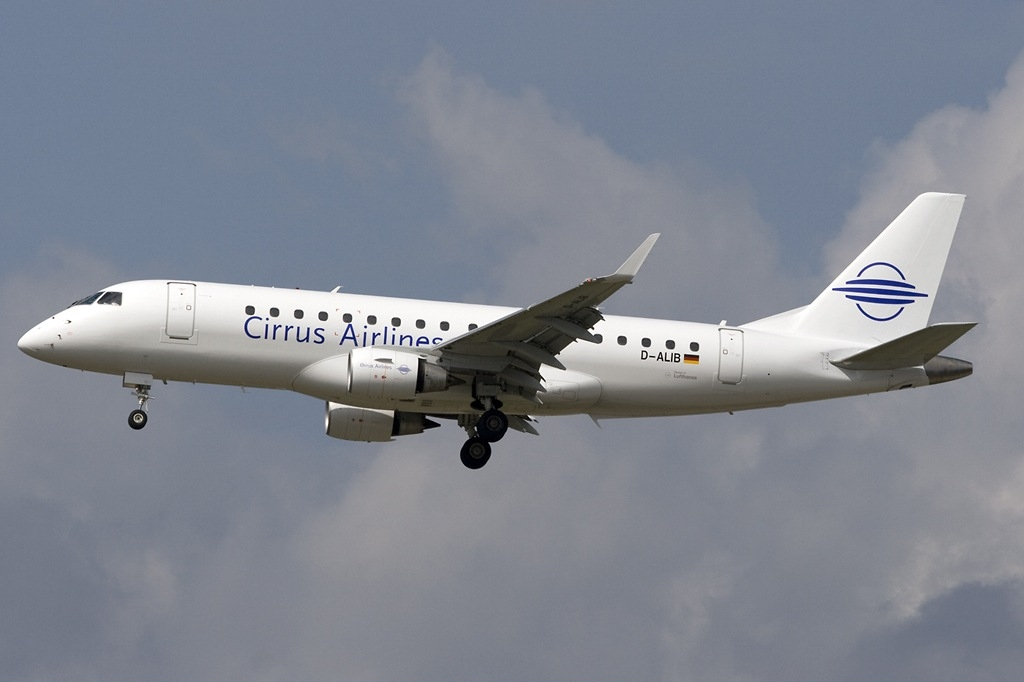 File:Embraer ERJ-175-200LR Cirrus Airlines D-ALIB, FRA ... - photo#1