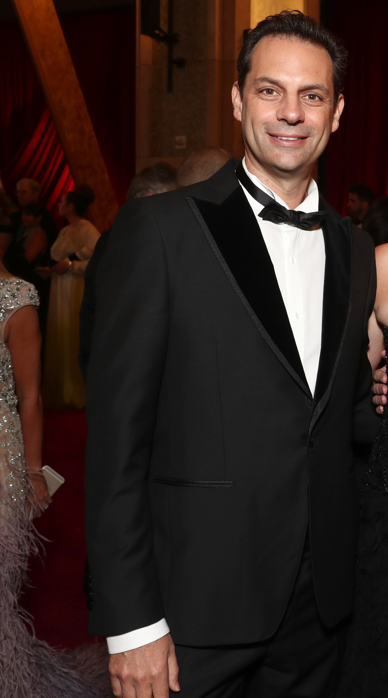 Emile Sherman at the Oscars, 2017