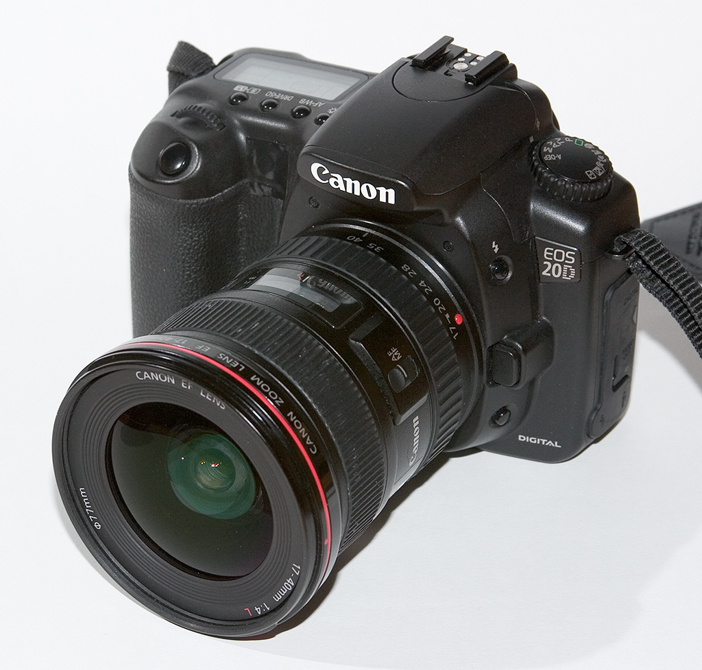 Canon EOS 20D – Wikipedia