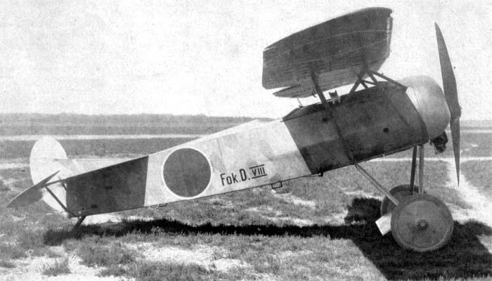 [RODEN] Fokker E.V/d.VIII aviation Néerlandaise FokkerD.VIII