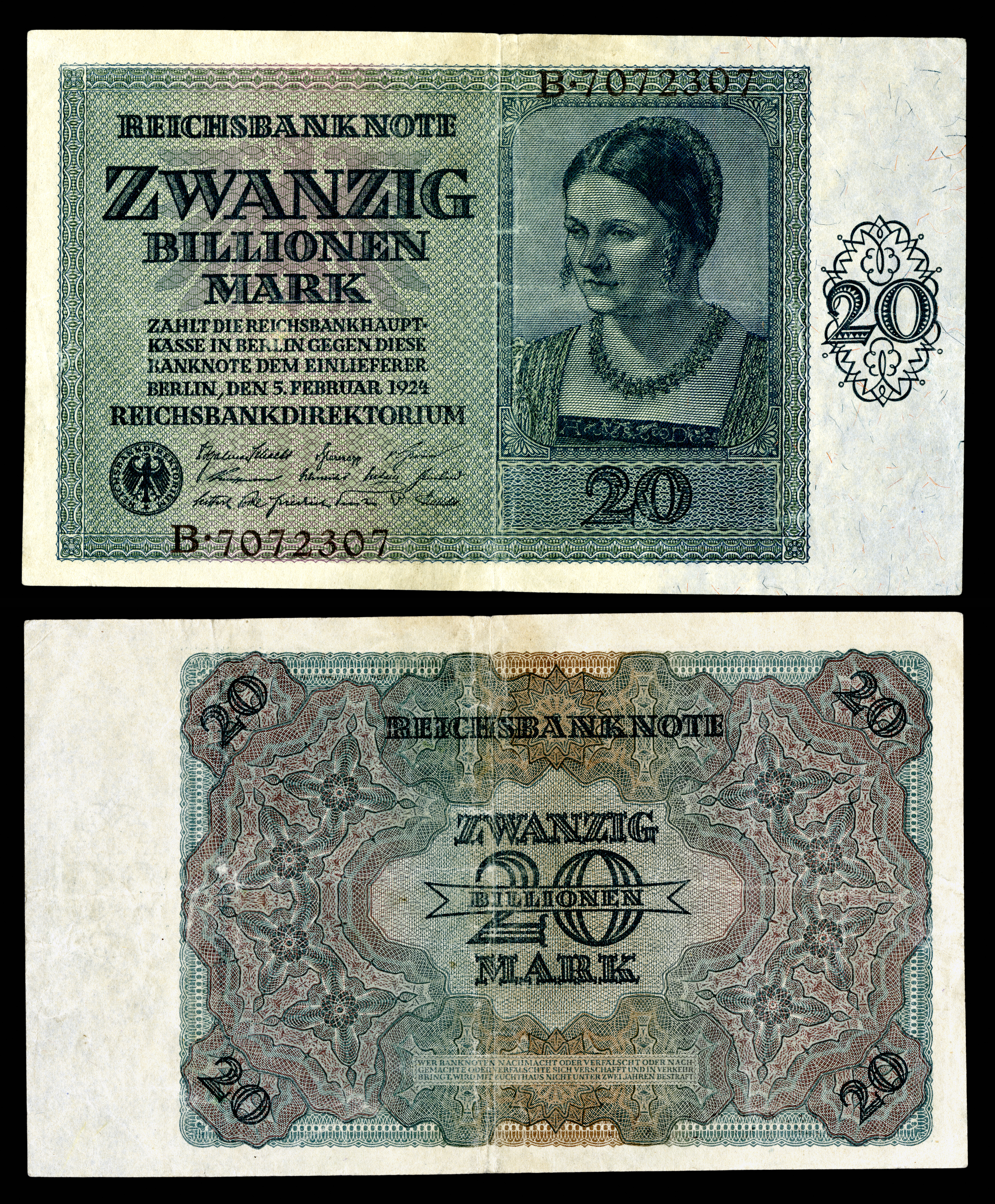 German papiermark wikipedia ger 138 reichsbanknote 20 trillion mark 1924g buycottarizona