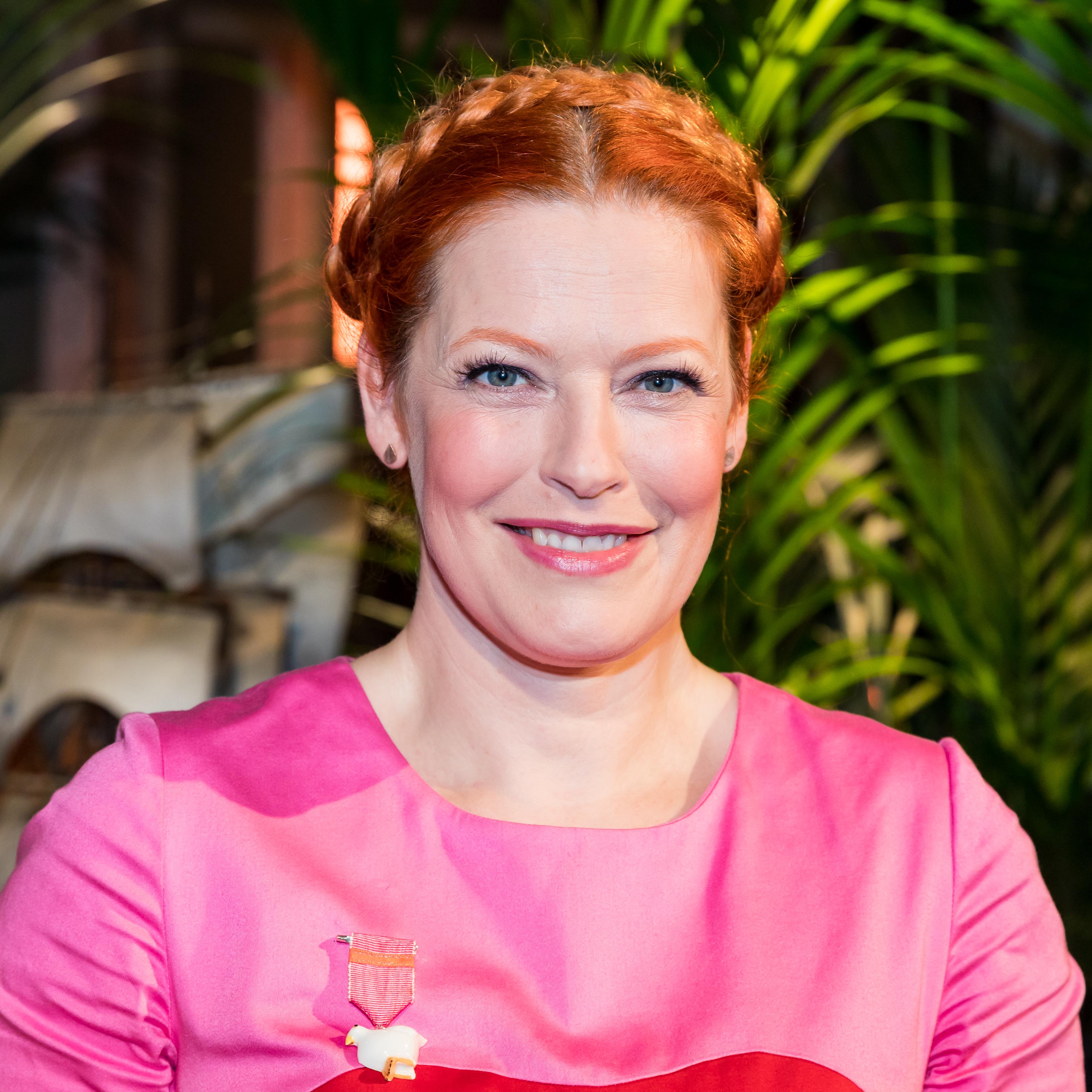 De 44-años, 168 cm de altura Enie van de Meiklokjes en 2018 foto