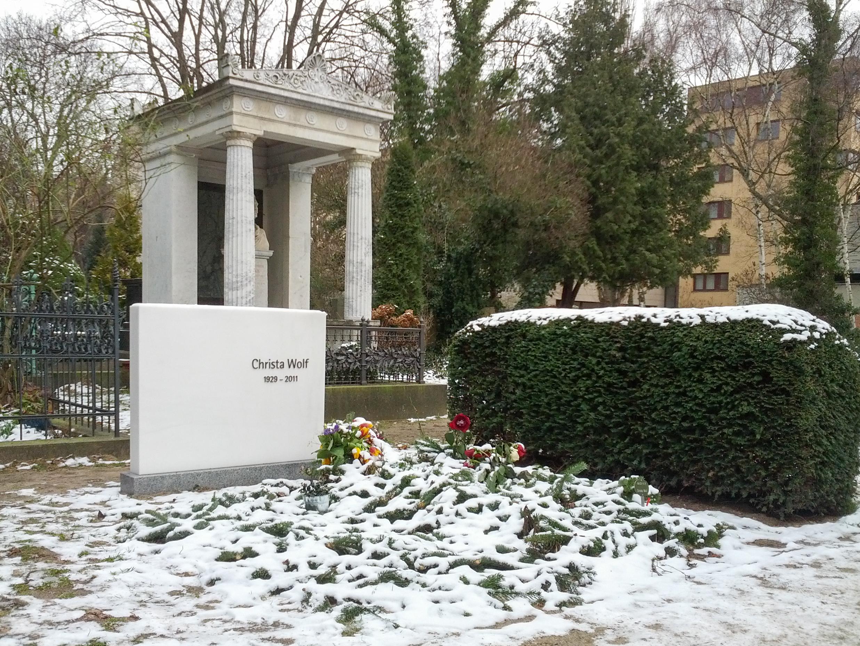 Grab von Christa Wolf