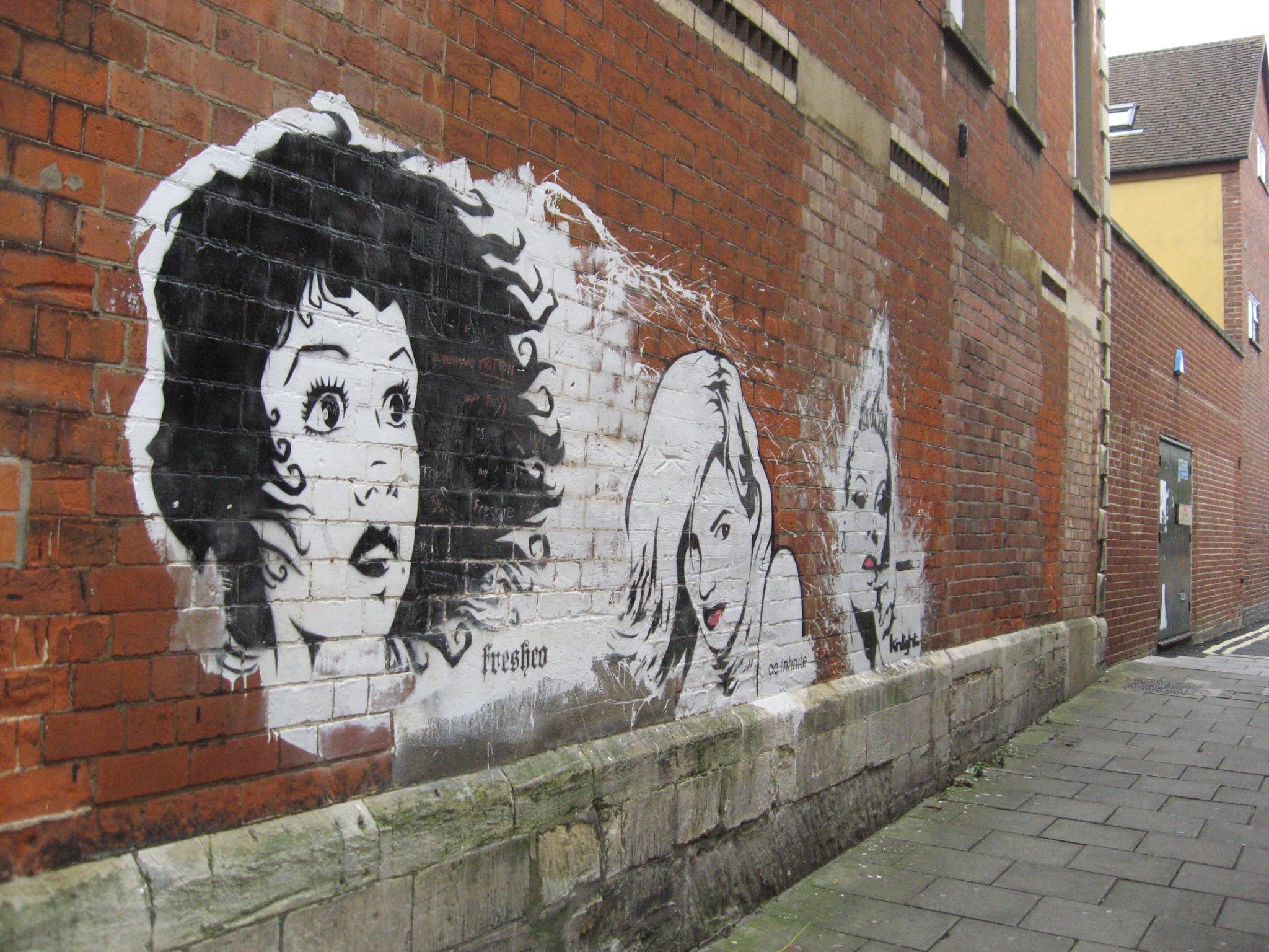 Graffiti wall pictures - File Grafitti Wall Jpg