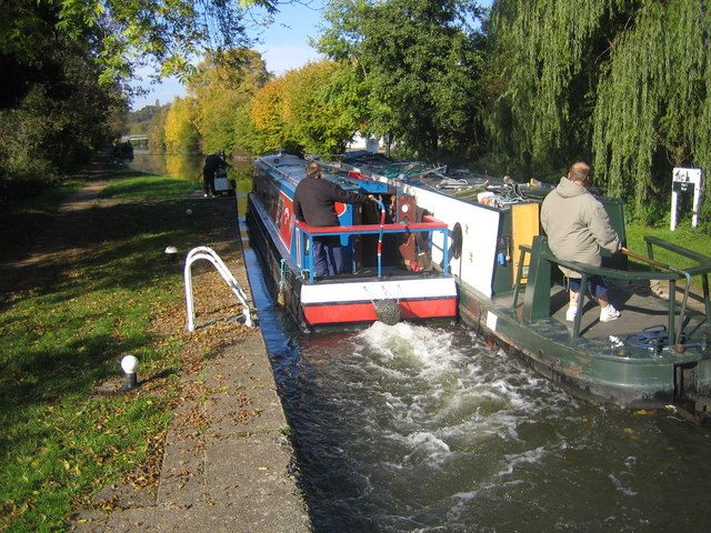 Grand Union Canal, Gas 1 Lock No. 49 - geograph.org.uk - 591599